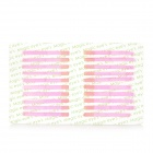 Cosmetic Makeup Double-Eyelid Maker Fiber Strips Set - Pink