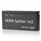 1-In 2-Out 3D Full HD 1080p HDMI V1.3 Splitter