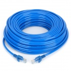 Cat 5e RJ45 to RJ45 Network Cable - Blue (25m)