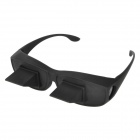 Novelty Bed Lie Down Periscope Glasses Spectacles - Black