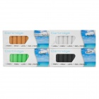 ME52022 Electronic Cigarette Refills Cartridges - 4 Flavors (4 x 10PCS)