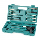 AML021049 Multi-Function Steel Car Lock Pick Tools Kit - Green