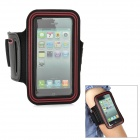 Sports Gym Arm Band Case for Iphone 5 - Black + Red