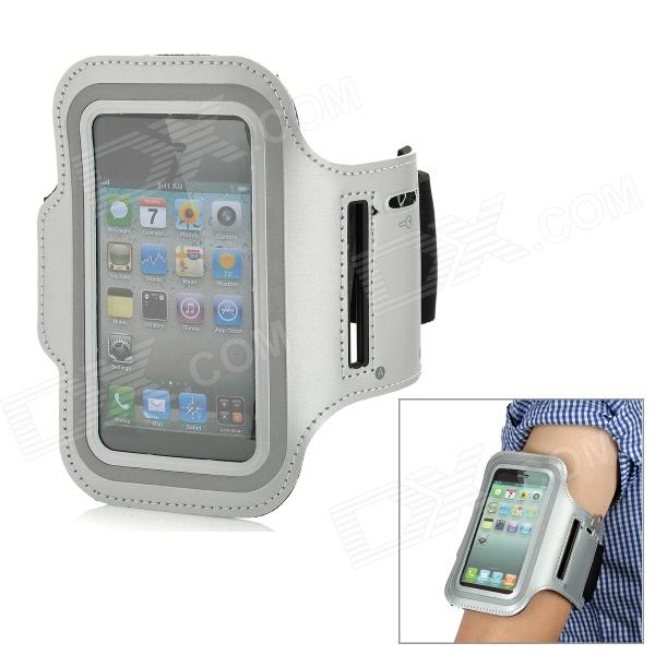 Sports Gym Arm Band Case for Iphone 5 - Grey