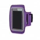 Sports Gym Arm Band Case for iPhone 5 - Purple