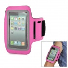 Fashion Sports Gym Arm Band Case for Iphone 5 - Deep Pink