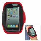 Sports Gym Arm Band Case for Iphone 5 - Red + Black