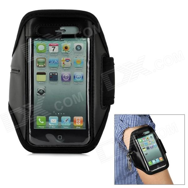 Sports Gym Arm Band Case for Iphone 5 - Black