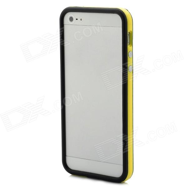 Protective Bumper Frame for Iphone 5 - Yellow + Black