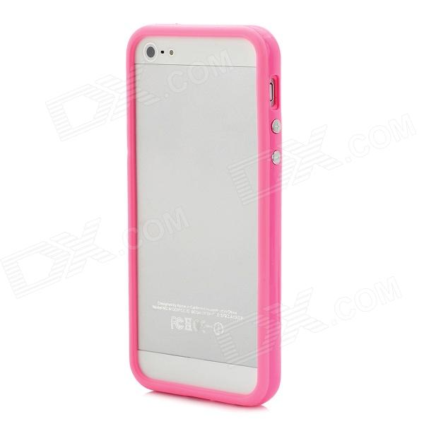 Protective TPU Bumper Frame for Iphone 5 - Pink