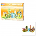 Fairy Tale The Adventures of Pinocchio Style DIY 3D Foam Jigsaw Puzzle - Multicolored