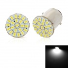1157 2.2W 110lm 22-SMD 1206 LED White Light Car Steering / Brake / Backup Lamp (2 PCS / 12V)