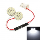 T10 / Festoon 17mm~41mm 2.6W 264lm 44-SMD 3020 LED White Light Car Reading Lamp (12V)