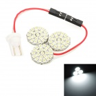 T10 / Festoon 28~40mm 3.9W 396lm 66-SMD 3020 LED White Light Car Reading Lamp (12V)