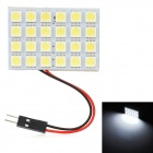T10 / BA9S / Festoon 24~34mm 7.2W 240lm 24-SMD 5050 LED White Light Car Reading / Roof Lamp (12V)