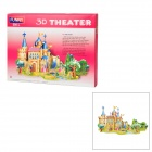 Fairy Tale Prince Charming Style DIY 3D Foam Jigsaw Puzzle - Multicolored