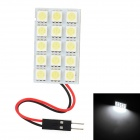 T10 / BA9S / Festoon 24~34mm 4.5W 180lm 15-SMD 5050 LED White Light Car Reading / Roof Lamp (12V)