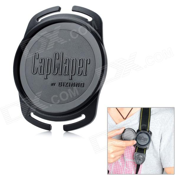 GIZINNO 67mm CapClaper Lens Cap Keeper Holder for Camera - Black