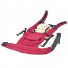 WRbaby 805 Comfortable Cotton Baby Carrier Sling - Pearl Ruby Red