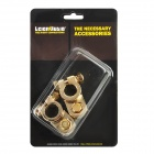 LeiGe LGB-40 Car Battery Terminal Clamp - Golden (2 PCS)