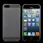 Super Slim Protective PC Back Case Cover for iPhone 5 - Transparent White