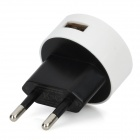USB EU Plug Power Adapter for Nokia Lumia 920 / Samsung / Iphone - White (100~240V)