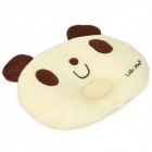 Lokyee 6119 Cute Bear Pattern Infant Baby Avoid Flat Position Pillow - Light Ivory