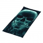 Multifunction Outdoor Sports Bicycle Cycling Seamless Head Scarf - Dark Green