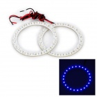 3.6W 192lm 24-SMD 1210 LED Blue Light Car Angle Eyes Decoration Lamp (2 PCS / 12V)