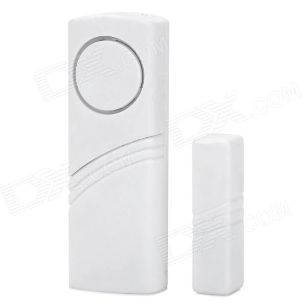 Window / Door Lengthened Anti-Theft Security Alarm - White (90dB / 2 x AAA)