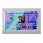 "T13 4.3"" Touch Screen TFT HD MP4 / MP5 Player with TV Out / FM / - White (640 x 480 / 4GB)"