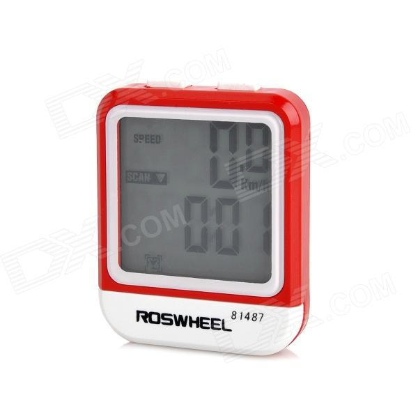 roswheel-81487-15-lcd-waterproof-wired-backlight-bicycle-computer-red-white