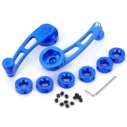 Universal Aluminum Alloy Car Window Winder Crank Handle - Blue(2 PCS)