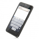 "AVS-X6 Android 4.0 WCDMA Bar Phone w/ 5.0"" Capacitive Screen, Wi-Fi, GPS and Dual-SIM - Black"