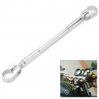 Motorcycle DIY Aluminum Alloy Handle Cross Bar - Silver