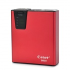 Cager B030B3 Power Bank 7500mAh Mobil External Power Charger w / SD Card Slot - Red