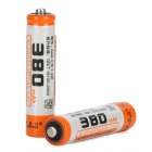 Viwipow Wiederaufladbare 1,2 V 380mAh Ni-CD AAA Batterien - Orange (2 PCS)