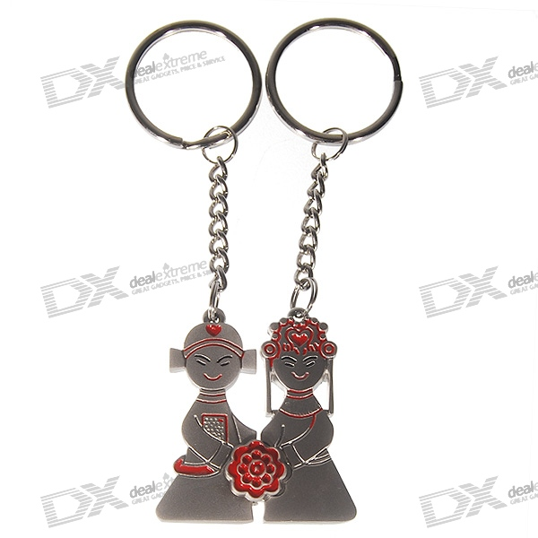 Magical Lovely Newlywed Keychains (2-Piece Set)