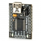 FT232 USB to Serial Breakout Board - Black + Silver