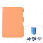 Protective PU Leather Case for Samsung Galaxy Note 10.1 N8000 - Orange
