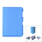 Protective PU Leather Case for Samsung Galaxy Note 10.1 N8000 - Blue