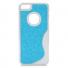 Protective PC Plastic Case for Iphone 5 - Blue + Silver