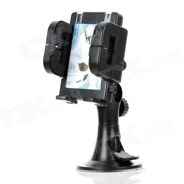 Universal Car Swivel Air Vent Mount Holder for GPS / Cellphone - Black concept car universal windshield mount holder for iphone samsung cellphone black