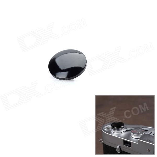 Cam-in CAM9009 Copper Camera Shutter Button - Black (Convex)