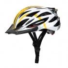 Anqi 039 Cool Sports Fahrradhelm - Yellow + White