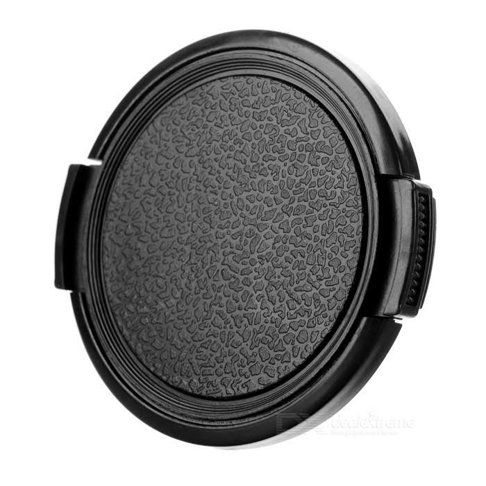 52mm Universal Plastic Lens Cap for Sony / Pentax / Fuji Camera - Black