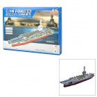 USS Ford Aircraft Carrier Style DIY 3D Foam Jigsaw Puzzle - Multicolored