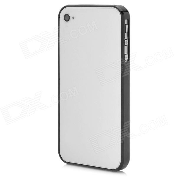 Stylish Protective Bumper Frame Case for Iphone 4 / 4S - Black