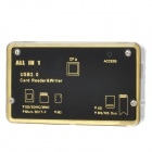 High Speed ​​USB 2.0 SD / Micro SD / M2 / XD / MS / CF Card Reader - черный