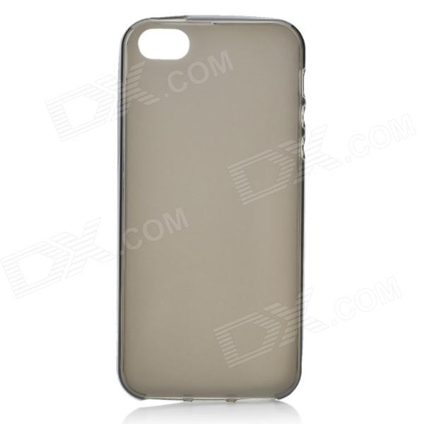 Protective Matte TPU Soft Back Case for Iphone 5 - Translucent Grey ткань акустическая audiocore r299k 76 1 m какао